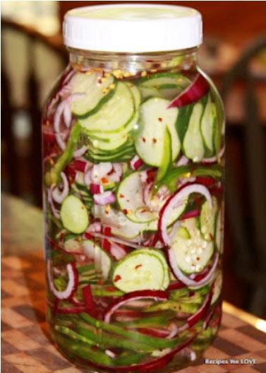 Krastavac salata iz frižidera