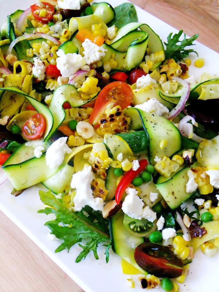 Salata sa pečenim kukuruzom