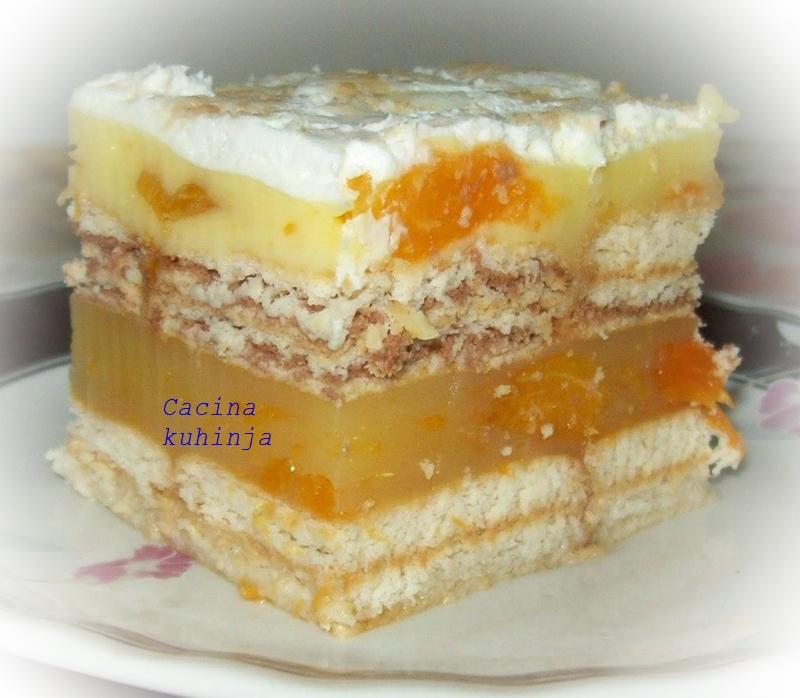 Kajsijin letnji kolač