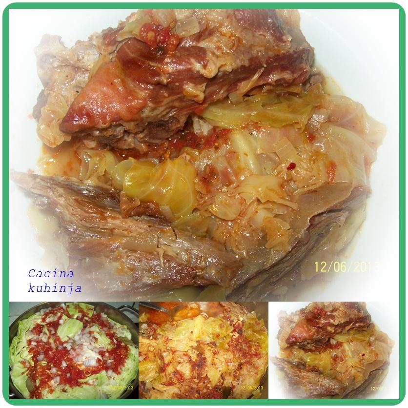 Slatki kupus sa tri vrste mesa