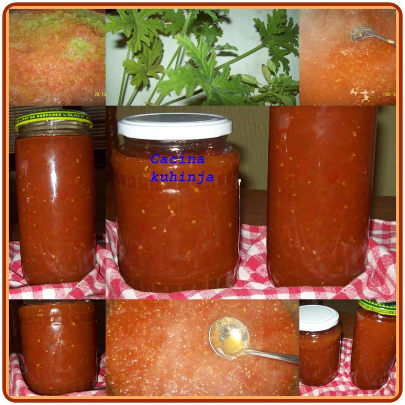 Pekmez od zelenog paradajza
