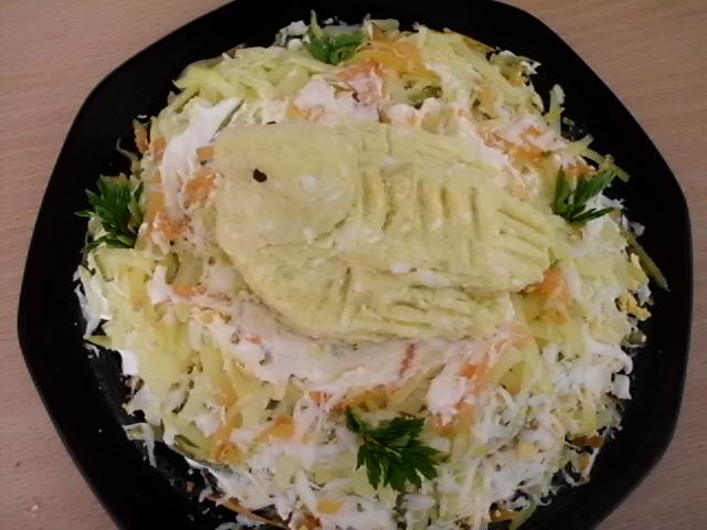 Gnezdo salata