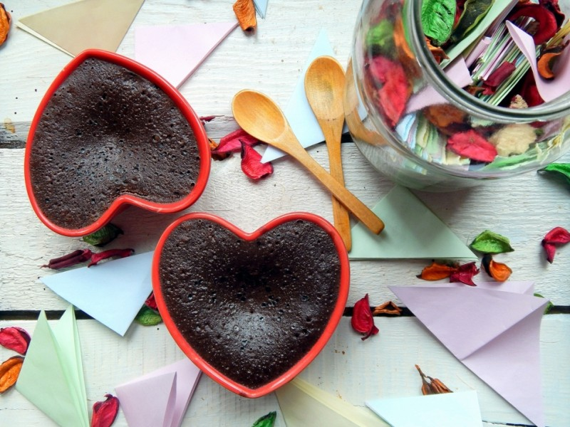 Brownie puding
