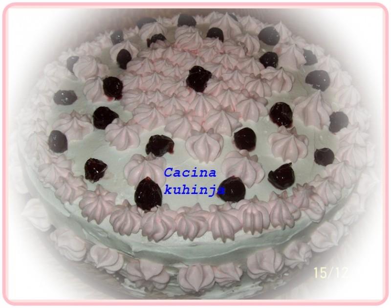 Posna gala švarcvald torta