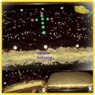 posna bajadera torta