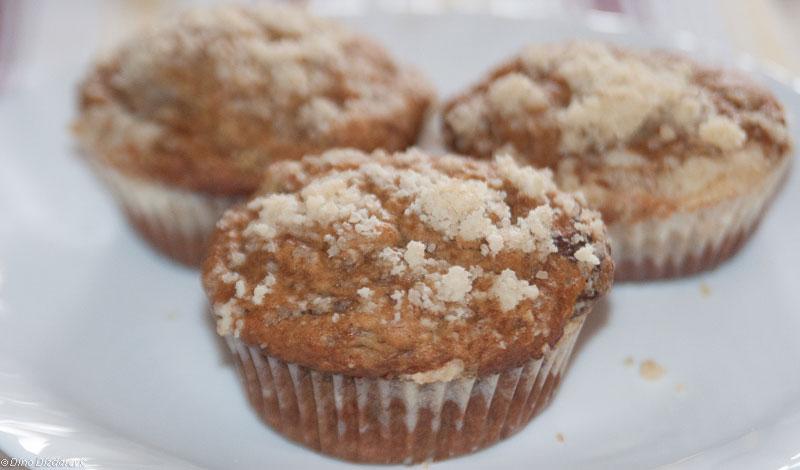 Muffins sa bananom i čokoladom