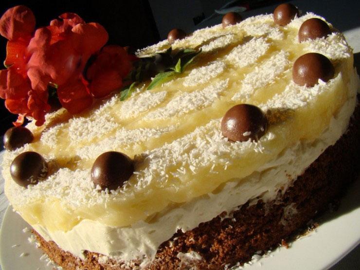 Pina Colada torta
