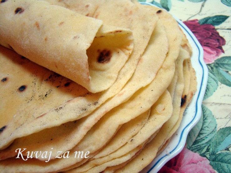 Tortilje od kukuruznog brašna