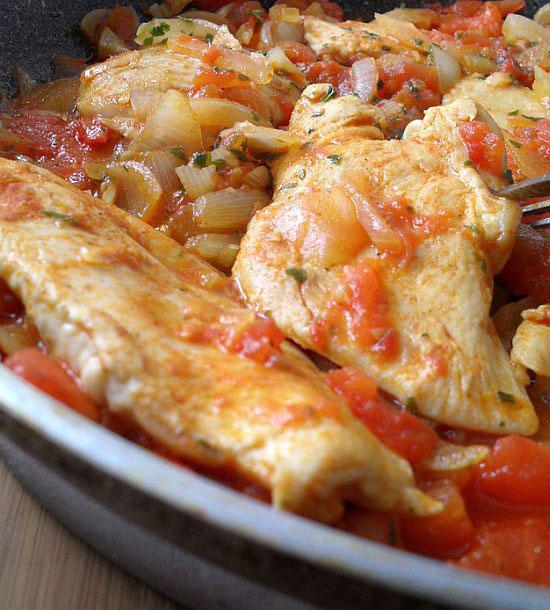 Pile sa paradajzom