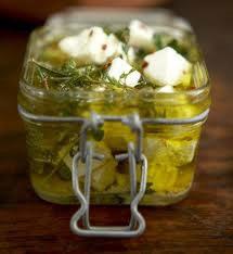 Bijeli sir u marinadi