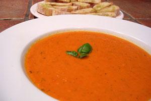 Supa od rajčica sa narandžom