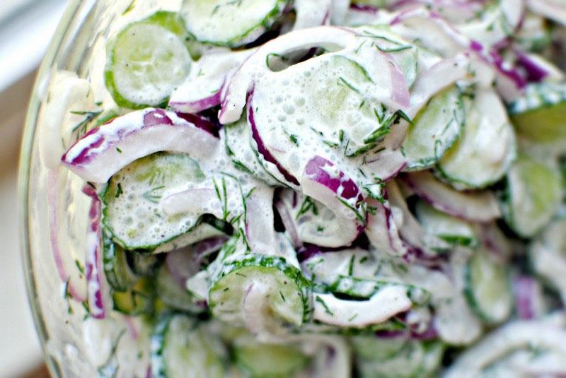 Salata sa krastavcem i pavlakom