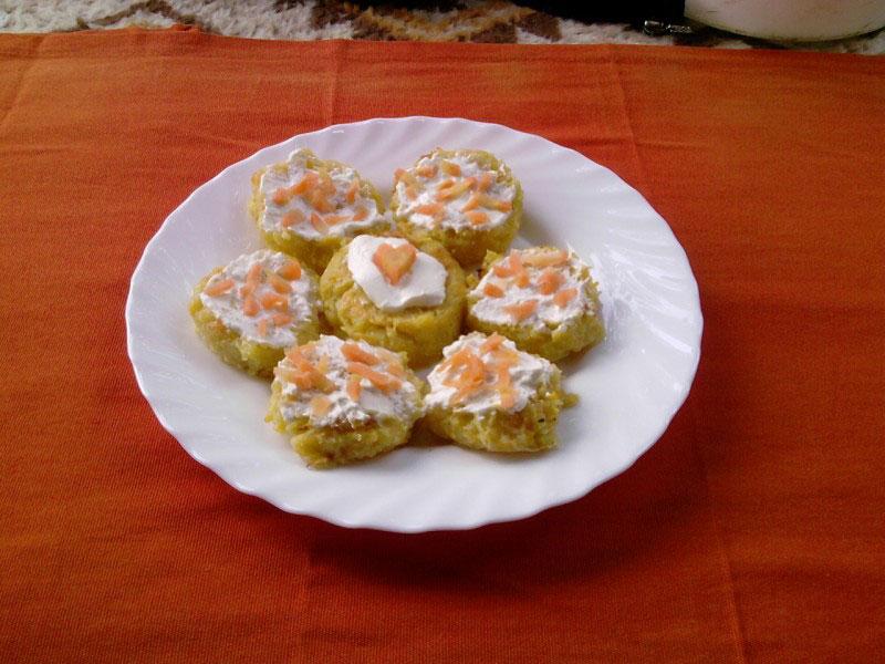 Muffini sa bundevicom i mrkvom