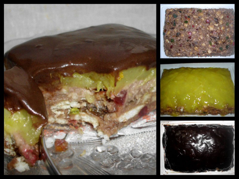 Jafa kolač bez pečenja