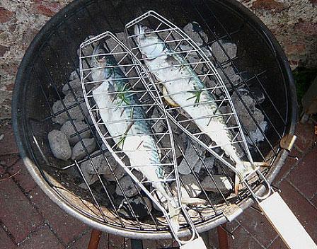 Riba na roštilju