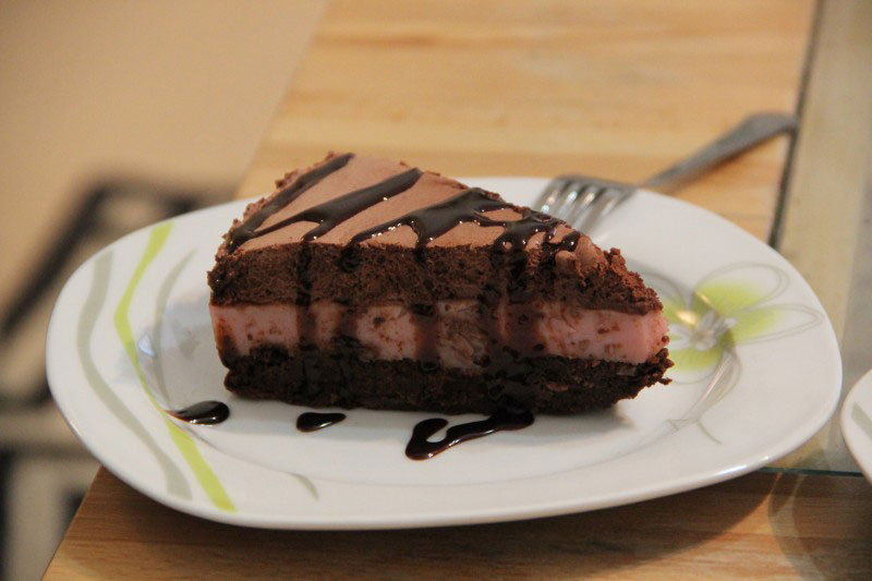 Čoko malina torta