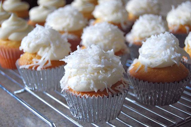 Cupcakes sa kokosom