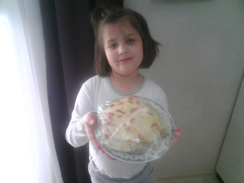 Domaće tortilje koje pravi moja ćerkica