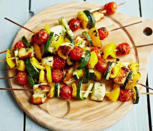 Grčki vegetarijanski kebab