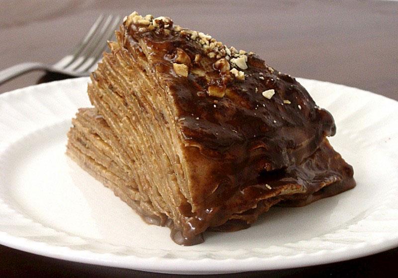 Kremasta palačinak torta
