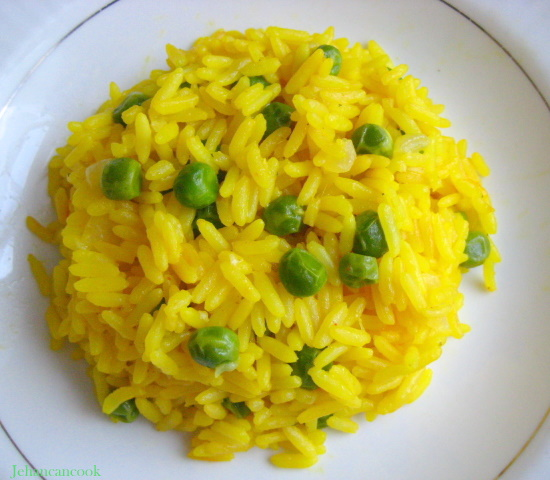 Riža sa šafranom