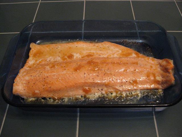 Pečeni losos
