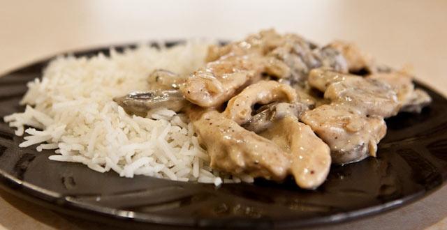Piletina sa gljivama