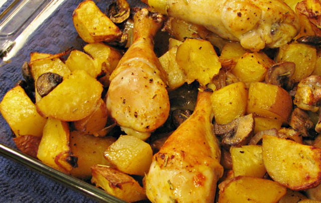 Piletina sa krompirom