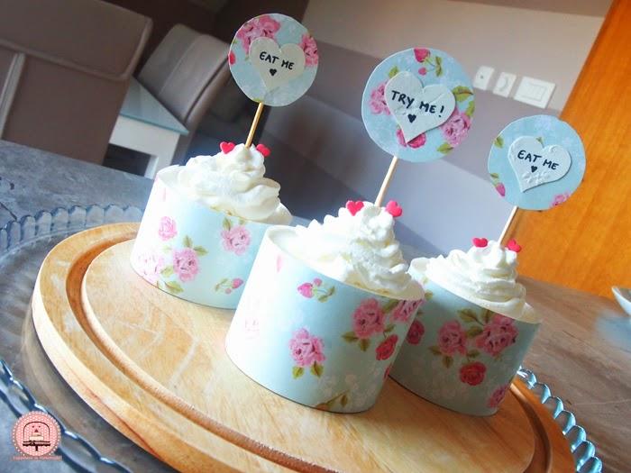 Romantični cupcakesi punjeni s Lino ladom