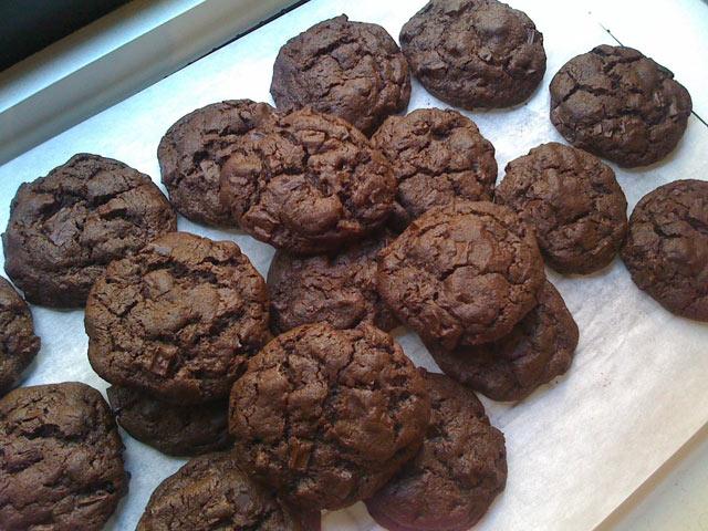 Super čokoladno čokoladni keksi