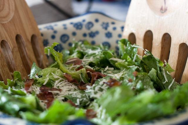 Cezar salata bez piletine