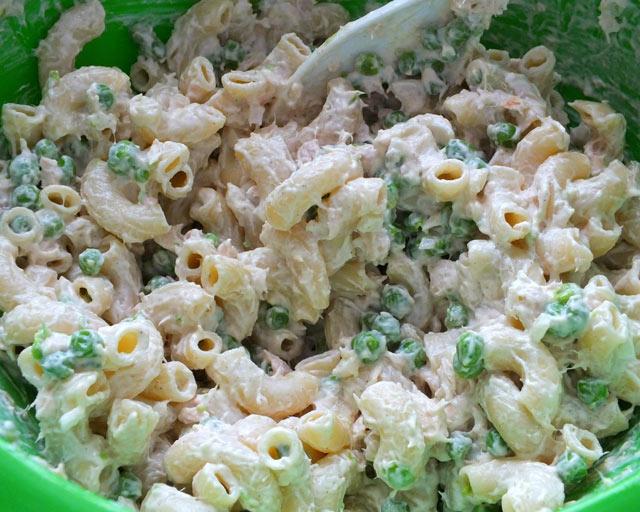 Hladna pasta tuna salata