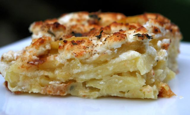 Krompir sa kozijim sirom