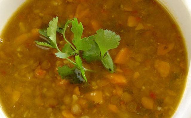 Libanska supa od leće