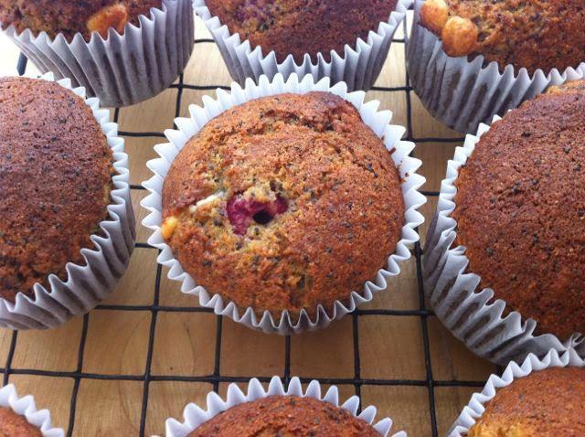 Muffini sa makom i malinama