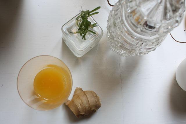 Sok od narandže sa đumbirom