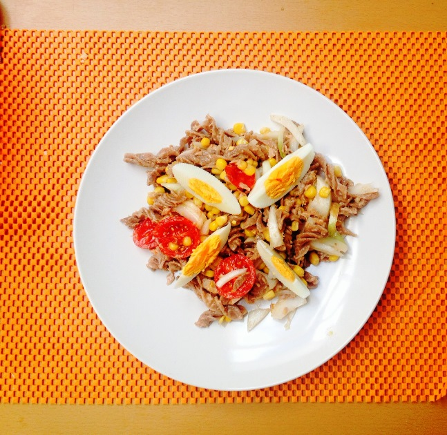 Tuna salata sa integralnom pastom
