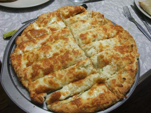 Brza bijela pizza