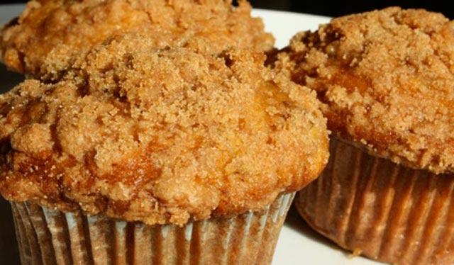Čupavi muffini sa bananom
