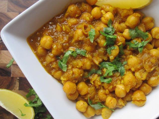 Curry od leblebija