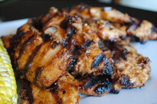 Grilana piletina u kikirikiju
