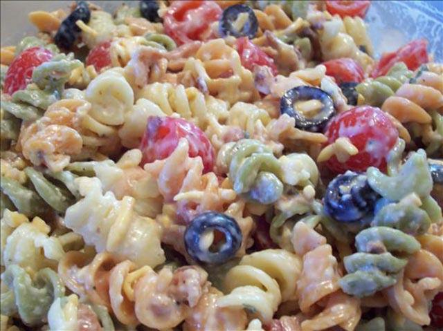 Hladna pasta salata