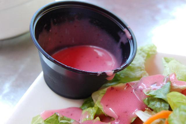 Preljev za salatu sa malinama