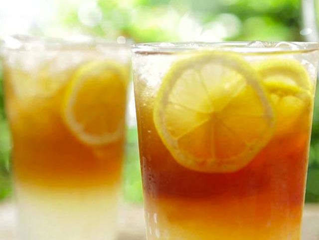 Ledeni čaj sa narandžom