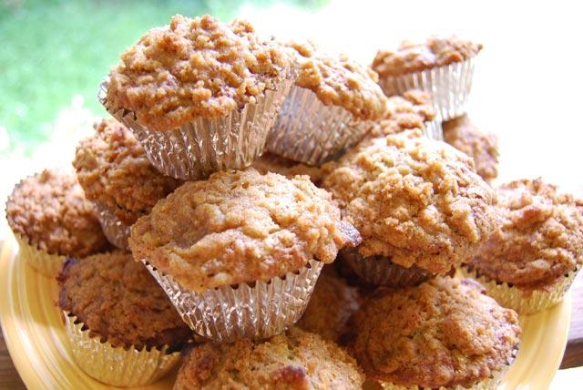 Muffini sa bananom i kokosom
