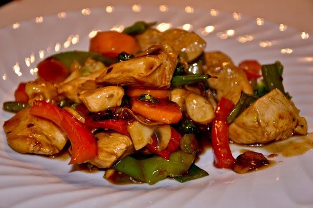 Piletina u woku sa povrćem