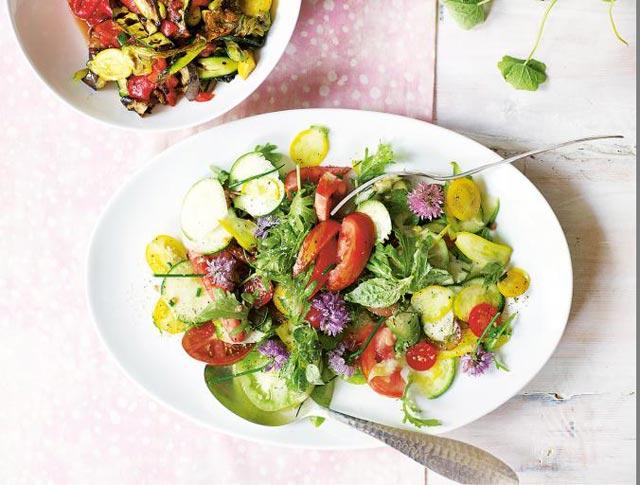 Proljetna šarena salata