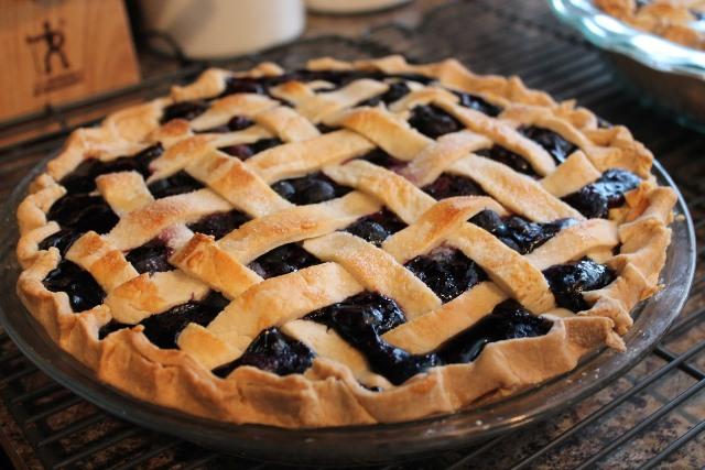 Slatka pita od borovnica