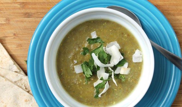 Supa s lećom i graškom