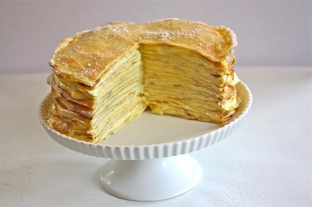 Torta od palačinaka sa limunom